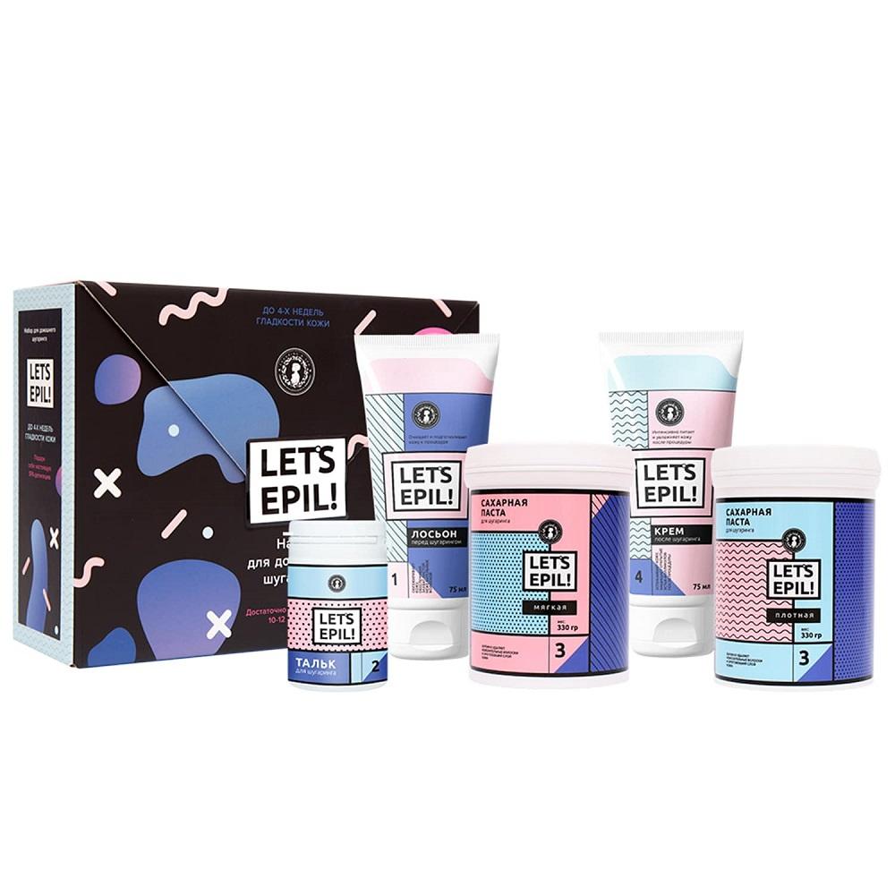 Купить Gloria Набор для домашнего шугаринга Let's Epil! в коробке (Gloria, Let's Epil!), Россия