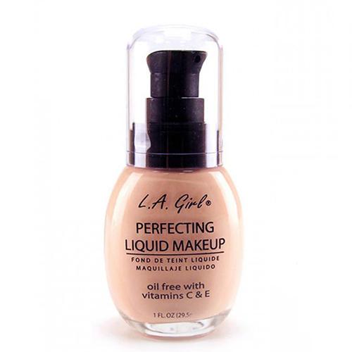 Тональный крем Perfecting Liquid Makeup, 29,5 мл (L.A. Girl, Perfecting Liquid) l a girl тональный крем perfecting liquid makeup buff 29 5 мл