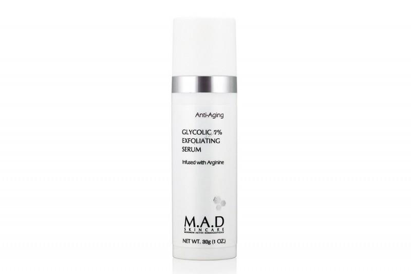 M.A.D. Отшелушивающая сыворотка с 7% гликолевой кислотой 30 гр (M.A.D., Anti-Age)