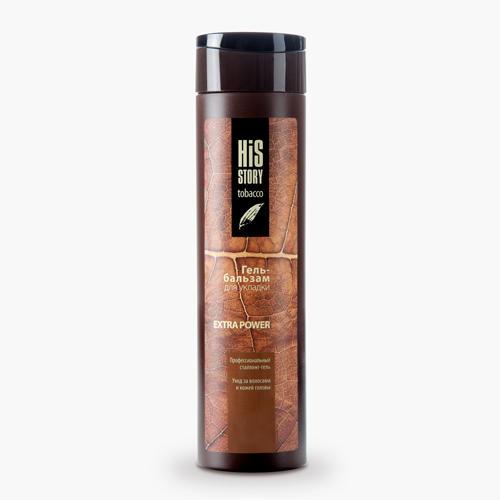 Купить со скидкой Premium Гель-бальзам для укладки волос Extra Power, 250 мл (Premium, His Story)