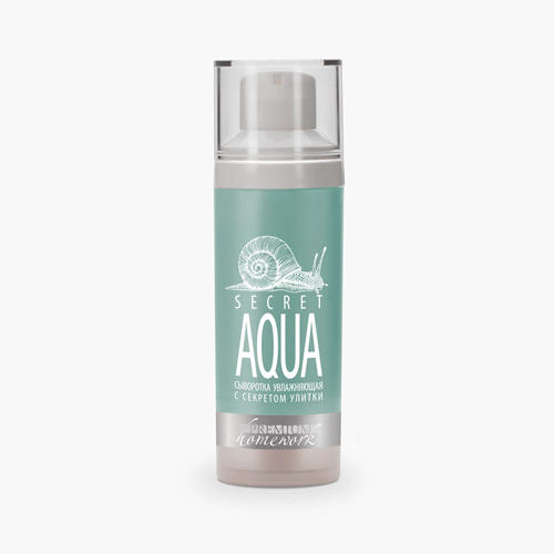 Сыворотка увлажняющая с секретом улитки Secret Aqua, 30 мл (Home Work)