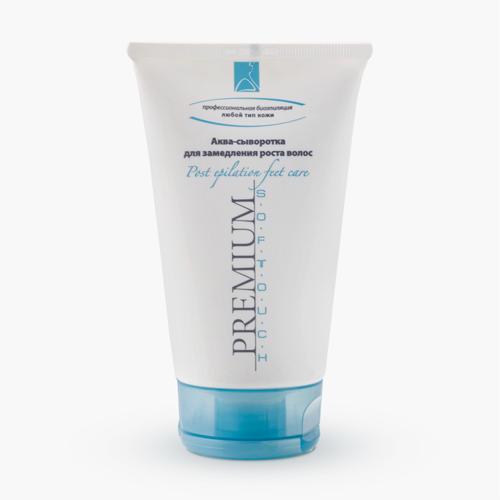 Купить со скидкой Premium Аква-сыворотка для замедления роста волос 150 мл (Premium, Softouch)