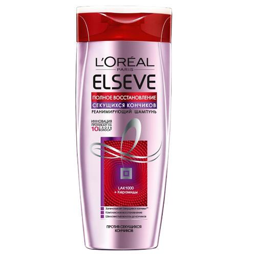 Купить Loreal Paris Шампунь для волос Полное восстановление секущихся кончиков , 400 мл (Loreal Paris, Elseve), Франция