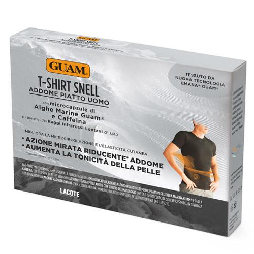 Фото - Guam Футболка для мужчин с моделирующим эффектом, L/XL (50-52) (Guam, Аксессуары) guam шорты с моделирующим эффектом области живота и талии l xl 46 50 guam аксессуары