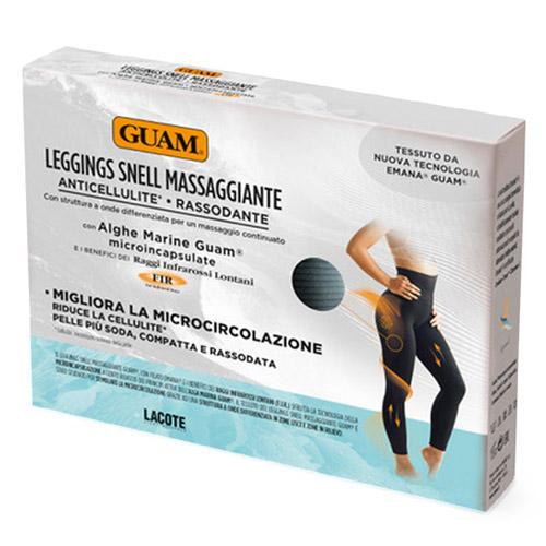Фото - Guam Леггинсы с массажным эффектом, L/XL (46-50) (Guam, Аксессуары) guam шорты с моделирующим эффектом области живота и талии l xl 46 50 guam аксессуары