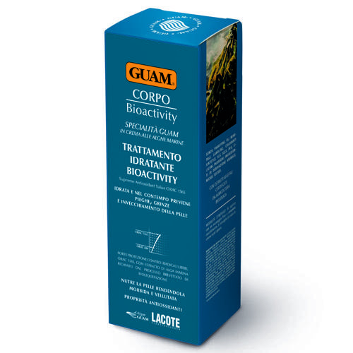 Guam Крем увлажняющий биоактивный для тела 200 мл (Guam, Corpo)