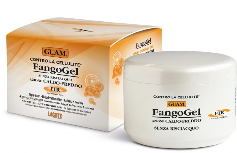 Купить Guam Гель для тела антицеллюлитный контрастный с липоактивными наносферами 300 мл (Guam, Fangogel), Италия