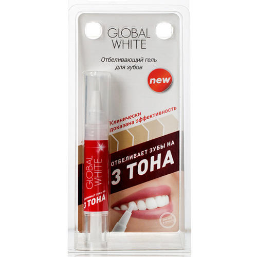 Отбеливающий гель для зубов классический 5 мл (Global white, Отбеливающие системы) гели global white набор отбеливающий с капами в подарок