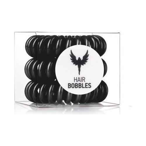 Резинка для волос Hair Bobbles Черная, 3 шт. (Hair Bobbles)