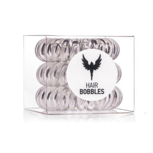 Резинка для волос Hair Bobbles Прозрачная, 3 шт. (Hair Bobbles)
