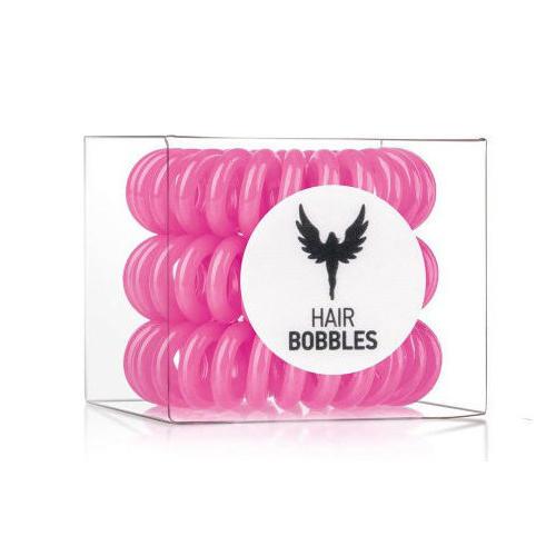 Резинка для волос Hair Bobbles Розовая, 3 шт. (Hair Bobbles, Hair Bobbles) new 10pcs women lady hair band velvet elastic ponytail tie bow rubber bobbles lovely