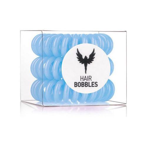 Резинка для волос Hair Bobbles Голубая, 3 шт. (Hair Bobbles)