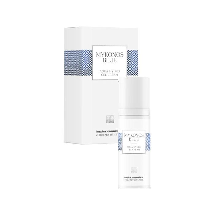 Купить Inspira Cosmetics Интенсивно увлажняющий гель-крем Aqua Hydro Gel Cream, 50 мл (Inspira Cosmetics, Mykonos Blue), Германия