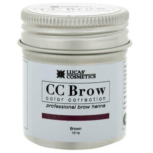 CC Brow Хна для бровей в баночке (коричневый) 10 г НОВИНКА (CC Brow, Для лица)