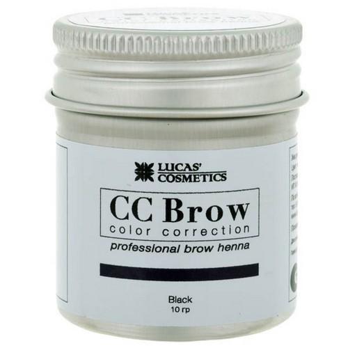 CC Brow Хна для бровей в баночке (черный) 10 г НОВИНКА (CC Brow, Для лица)