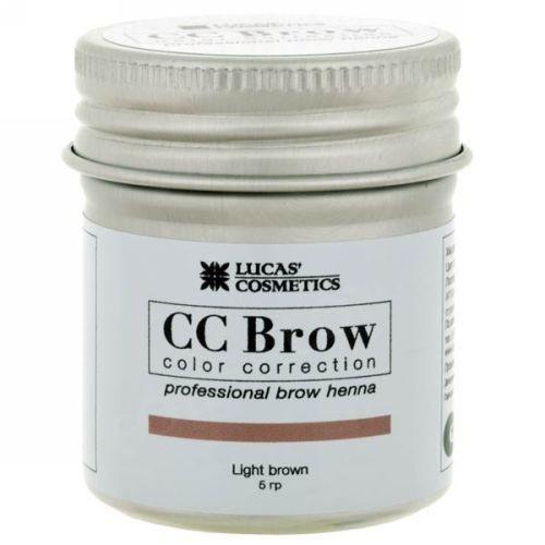 CC Brow Хна для бровей в баночке (светло-коричневый) 5 г НОВИНКА (CC Brow, Для лица)
