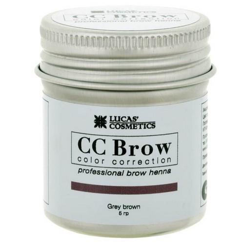 CC Brow Хна для бровей в баночке (серо-коричневый) 5 г НОВИНКА (CC Brow, Для лица)