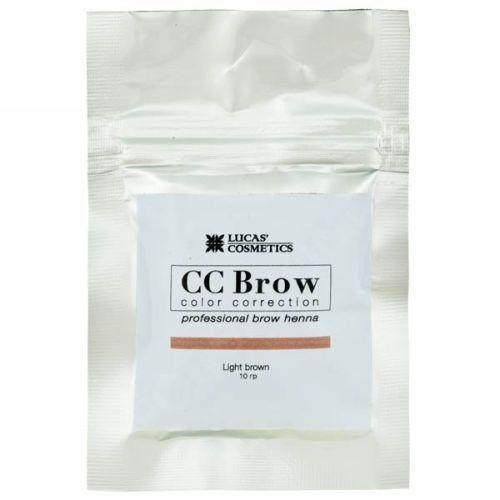 CC Brow Хна для бровей в саше (светло-коричневый) 10 г НОВИНКА (CC Brow, Для лица)
