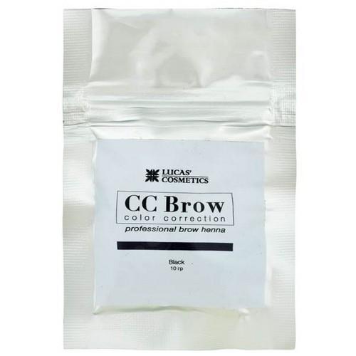 CC Brow Хна для бровей в саше (черный) 10 г НОВИНКА (CC Brow, Для лица)