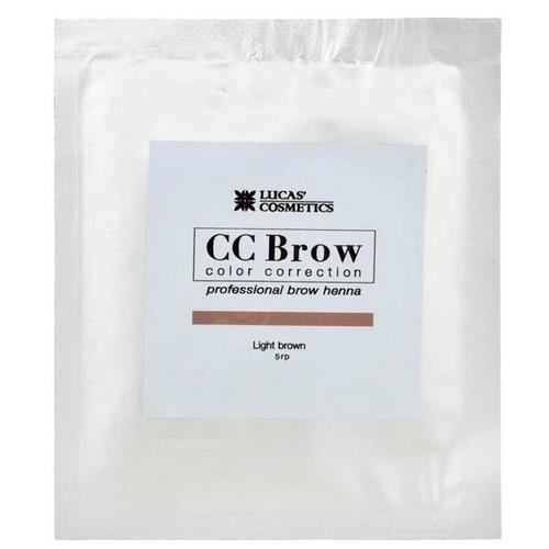 CC Brow Хна для бровей в саше (светло-коричневый) 5 г НОВИНКА (CC Brow, Для лица)