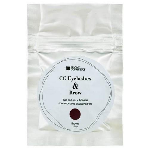 CC Brow Хна для окрашивания ресниц и бровей в саше (коричневая) 10 г НОВИНКА (CC Brow, Для лица)