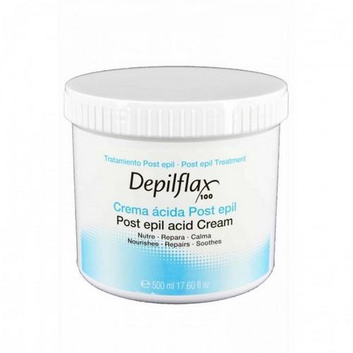 Сливки для кожи после депиляции. Увлажняют, питают и охлаждают кожу после процедуры 500 мл (Depilflax, Для тела) недорого