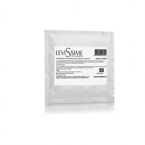 Купить LevisSime Альгинатная крио-маска с ментолом и спирулиной 30 г (LevisSime, Для лица / уход за лицом), Испания