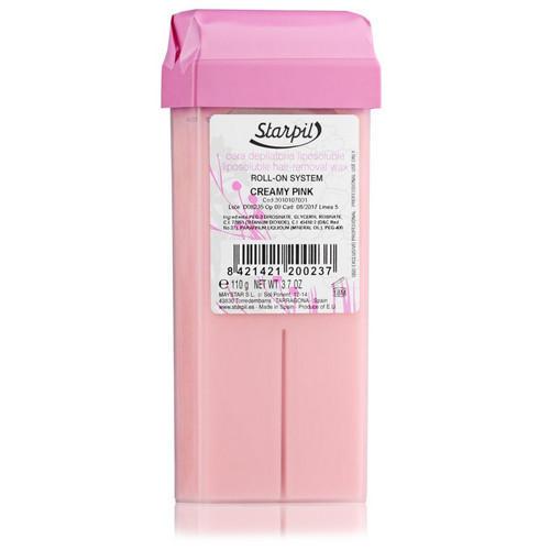 Starpil Воск розовый с содержанием талька, снижает