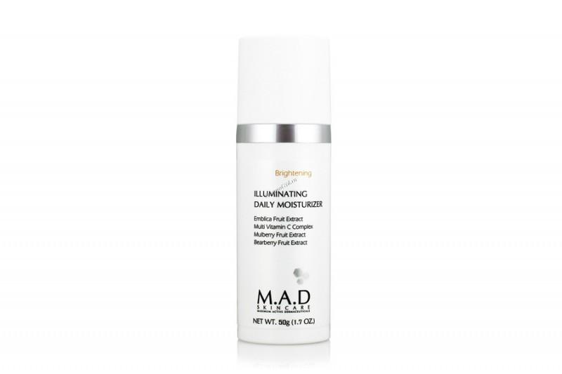 Купить M.A.D. Дневной увлажняющий крем с эффектом выравнивания тона кожи 50 гр (M.A.D., Brightening)