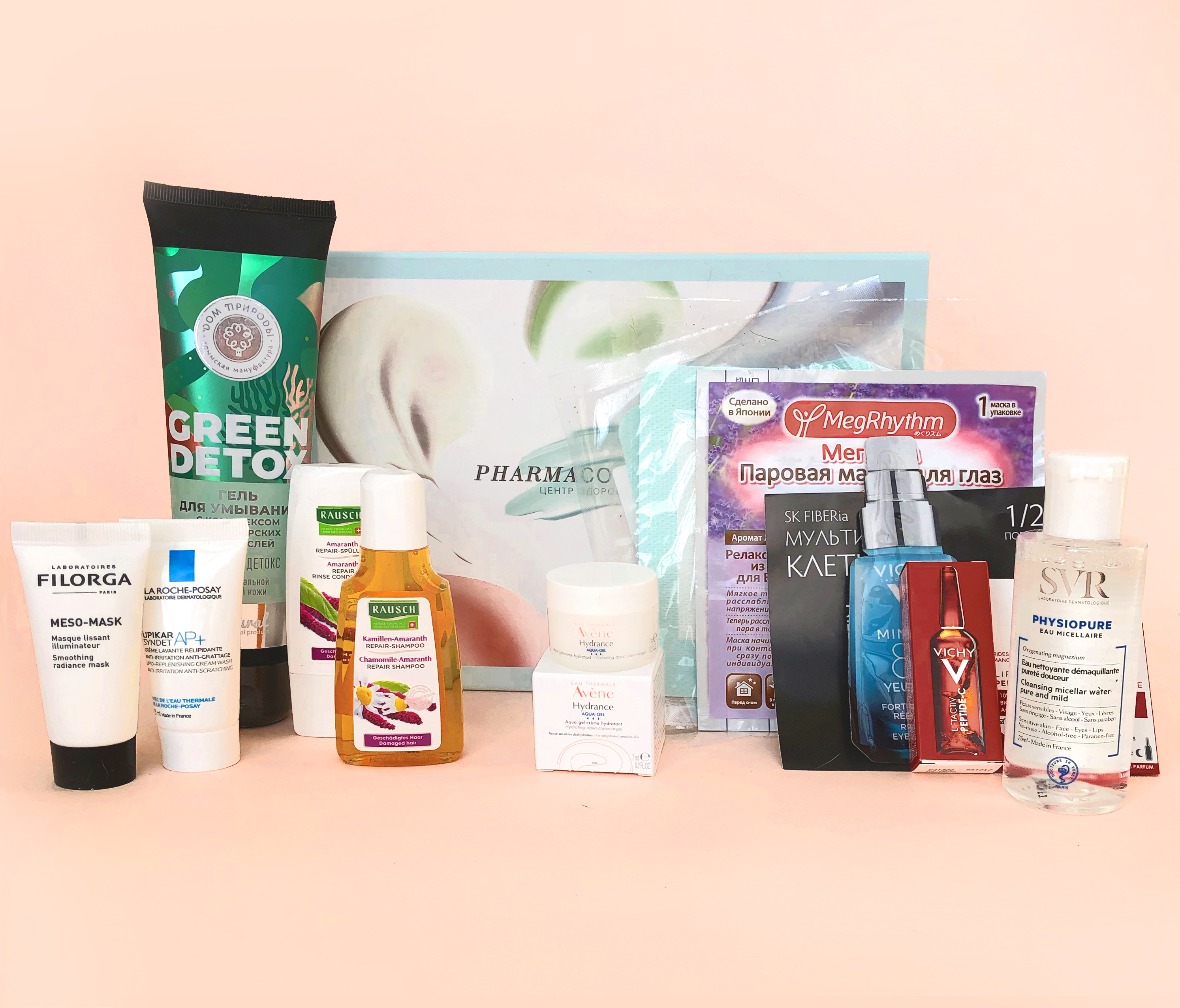 PHARMABEAUTYBOX Коробочка DETOX (PHARMABEAUTYBOX, Seasons)