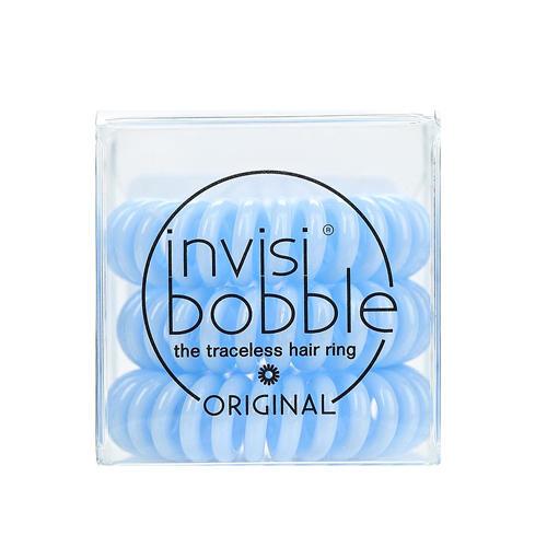 Резинка для волос Something Blue, Нежноголубой 3 шт. (Invisibobble, Original) invisibobble резинка браслет для волос power something blue 3 шт