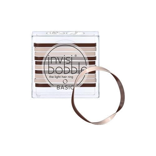 Invisibobble Резинка для волос Basic Mocca & Cream кофейно-молочный (Invisibobble, Basic), Великобритания  - Купить
