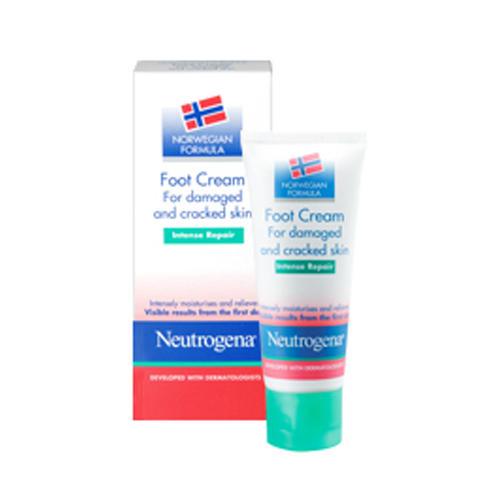 Нитроджина Крем для ног интенсивное восстановление 40 мл (Neutrogena, Норвежская формула) нитроджина помада для губ spf20 4 8 гр neutrogena норвежская формула