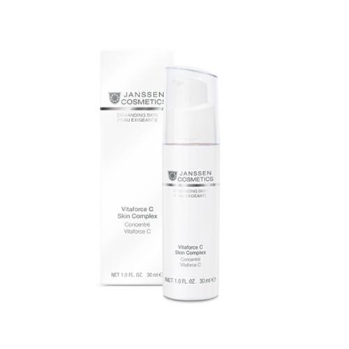 Регенерирующий концентрат с витамином С 30 мл (Janssen, Demanding skin) регенерирующий концентрат с витамином с