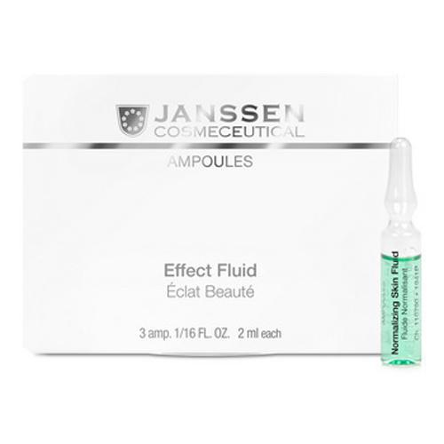 Janssen Нормализующий концентрат для ухода за жирной кожей 3х2мл (Janssen, Ампульные концентраты)