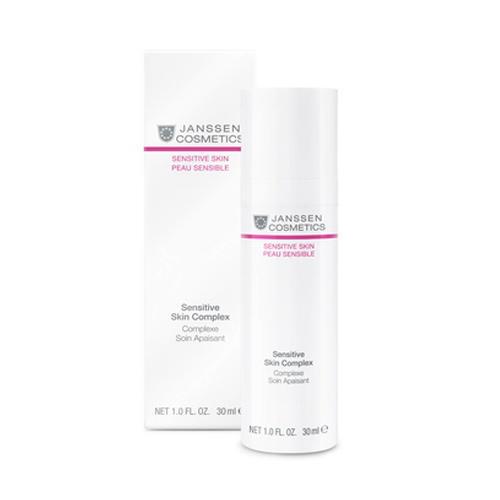цена Восстанавливающий концентрат для чувствительной кожи 30 мл (Janssen, Sensitive skin) онлайн в 2017 году