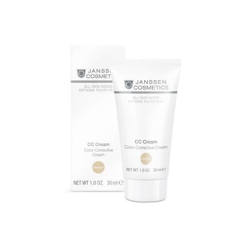 цена Тональный CCкрем SPF 30 Medium 30 мл (Janssen, All skin needs) онлайн в 2017 году