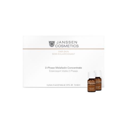 Двухфазный осветляющий комплекс 6х7,5 мл (Janssen, Fair Skin) janssen 2 phase melafadin concentrate двухфазный осветляющий комплекс 6 х 7 5 мл