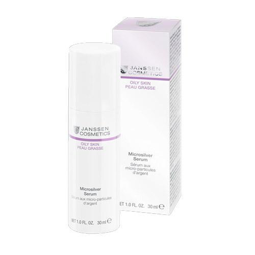 Купить Janssen Cosmetics Microsilver serum Сыворотка с антибактериальным действием для жирной, воспаленной кожи 30 мл (Janssen Cosmetics, Oily skin), Германия