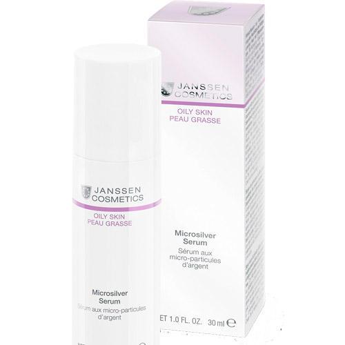 Microsilver serum Сыворотка с антибактериальным действием для жирной, воспаленной кожи 50 мл (Janssen, Oily skin) все цены