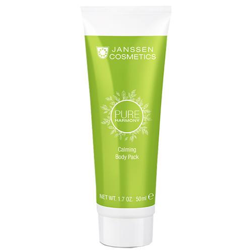 Antiage кремовое обертывание с экстрактом белого чая Calming Body Pack, 50 мл (Janssen, Pure harmony) janssen body gel pack омолаживающее гелевое обертывание с экстрактом клюквы 3 л