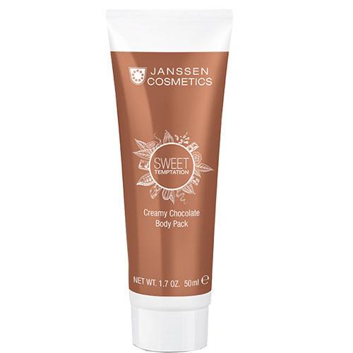 Корректирующее шоколадное кремовое обертывание Creamy Chocolate Body Pack, 50 мл (Janssen, Sweet Temptation)