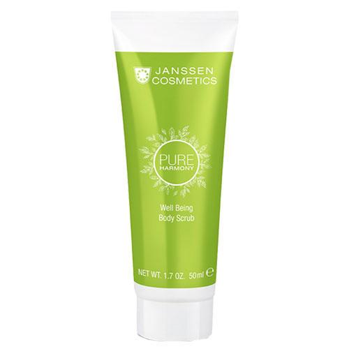 Janssen Тонизирующий скраб для тела с экстрактом белого чая Well Being Body Scrub, 50 мл (Janssen, Pure harmony)