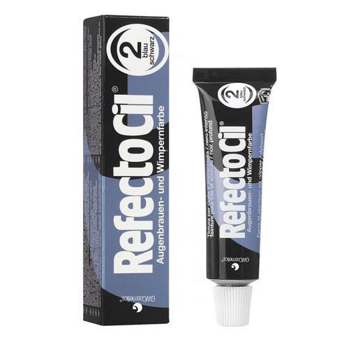 Краска черная-синяя для ресниц № 2, 15 мл (RefectoCil)