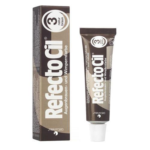 Купить RefectoCil Краска коричневая для ресниц № 3, 15 мл (RefectoCil), Австрия