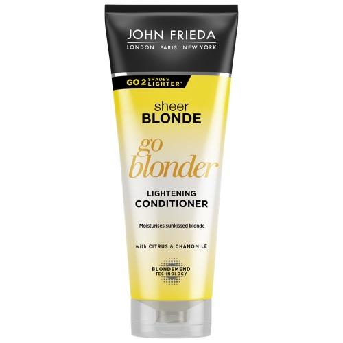 Купить John Frieda Кондиционер Blonde Go Blonder осветляющий для натуральных, мелированных и окрашенных волос 250 мл (John Frieda, Sheer Blonde), Великобритания