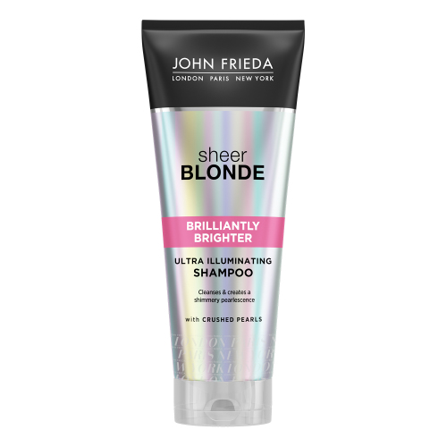 Фото - John Frieda Шампунь Brilliantly Brighter для придания блеска светлым волосам 250 мл (John Frieda, Sheer Blonde) lace sheer fringe lingerie bra set