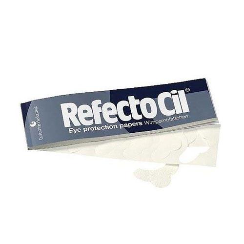Защитные бумажные полоски под глаза, 100 шт (RefectoCil, RefectoCil) refectocil салфетки под ресницы extra непромокаемые покрытые пленкой 80 шт