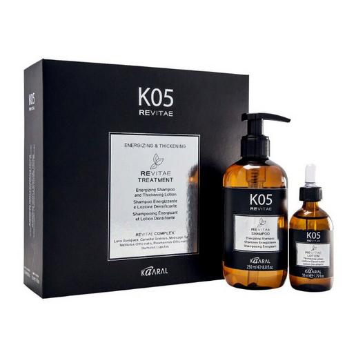 Купить Kaaral Набор: Тонизирующий шампунь для волос + Укрепляющий лосьон для волос (Kaaral, К-05), Италия