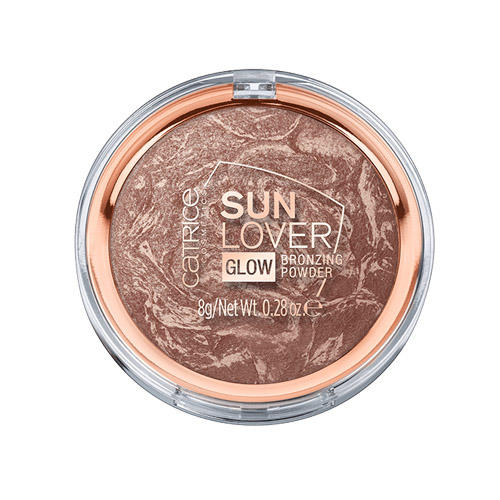 Sun Lover Glow Bronzing Powder Компактная бронзирующая пудра (Catrice, Лицо) бронзатор catrice sun lover glow bronzing powder цвет 010 sun kissed bronze variant hex name c09e93